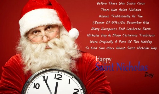 Happy St. Nicholas Day Qoutes Image