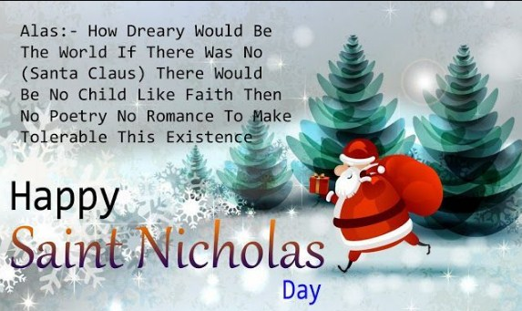 St. Nicholas Day Greetings Message