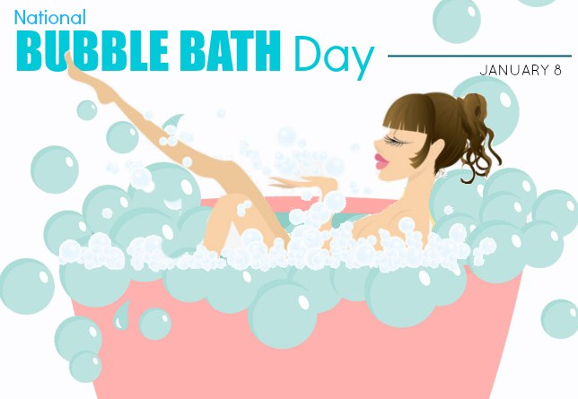 Funny Bubble Bath Day