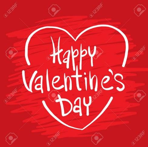 Romantic Valentine Day Greetings Image & Wallpaper