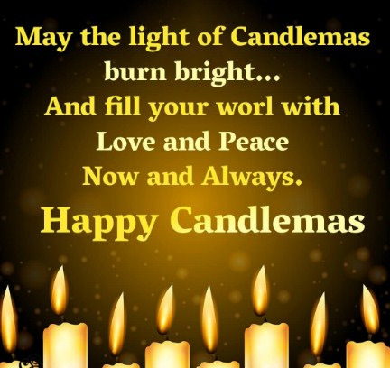 Candlemas Greetings 2020