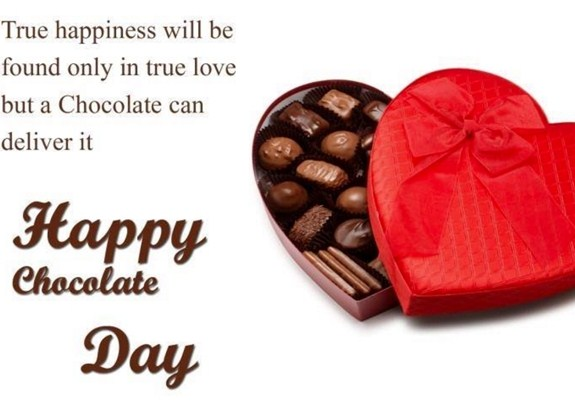 Chocolate Day greetings