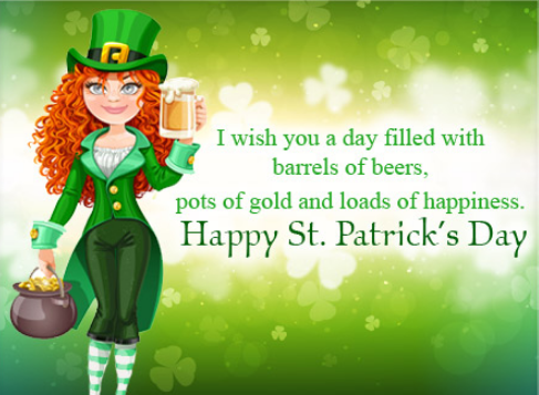 St. Patrick's Day Greetings, Image, Wallpaper