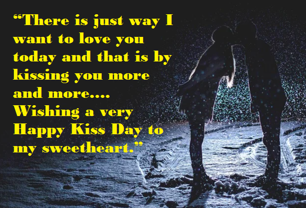 World Kissing Day Greetings, Image & Wallpaper
